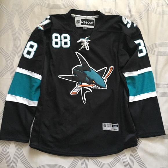 the best attitude 37221 00144 San Jose Sharks Jersey - Men's XL NWT